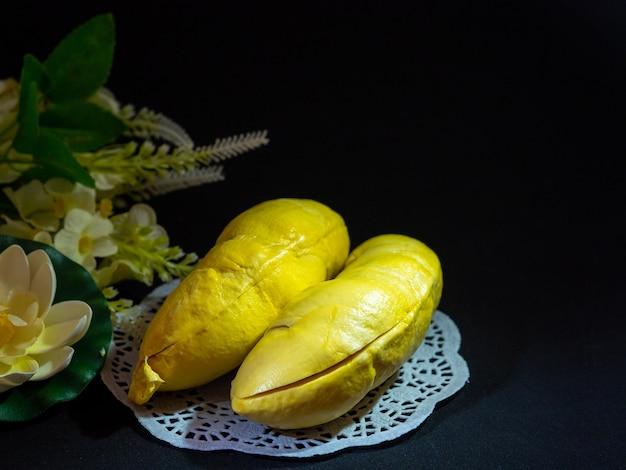 Big piece of sweet durian