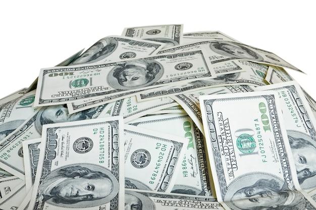 Большая куча денег долларов сша