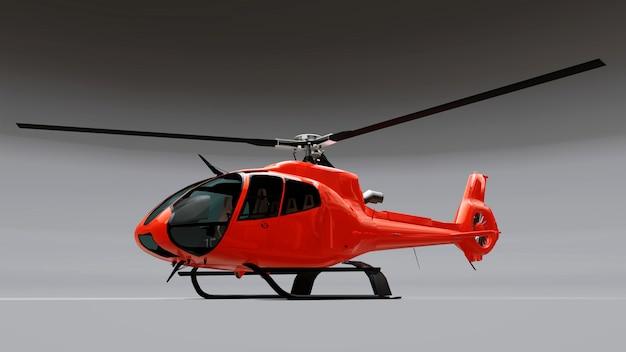 Большой красный вертолет