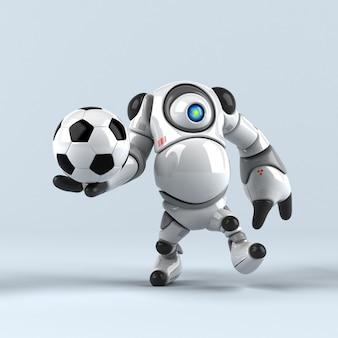 Big robot - 3d character