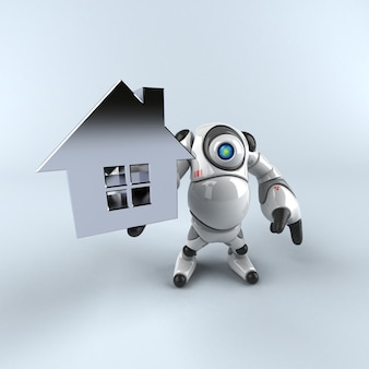 큰 로봇-3d 캐릭터