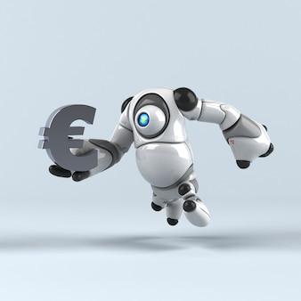 大きなロボット-3dイラスト