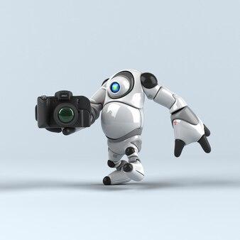 Иллюстрация большого робота