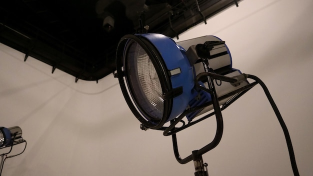Big studio led continue lighting for photo and video shooting production on tripod which very stron