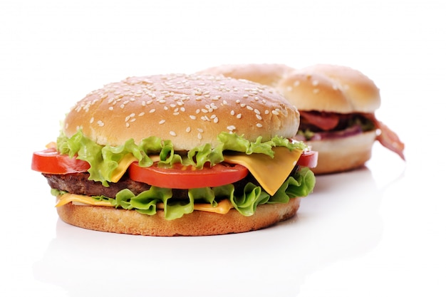Big and tasty burgers