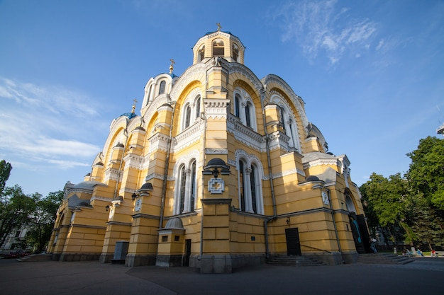 Big vladimir cathedral in kyiv