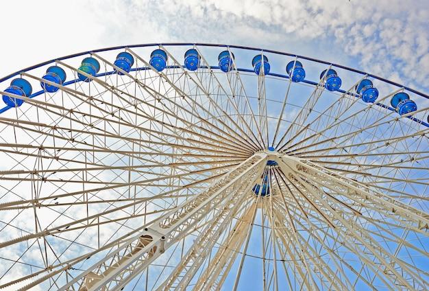 Big wheel on a fun fair