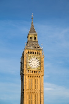 Bigben and house of parliament in london england, uk