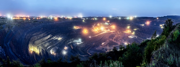 The biggest open pit in europe
