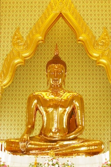 Biggest real golden buddha statue.
