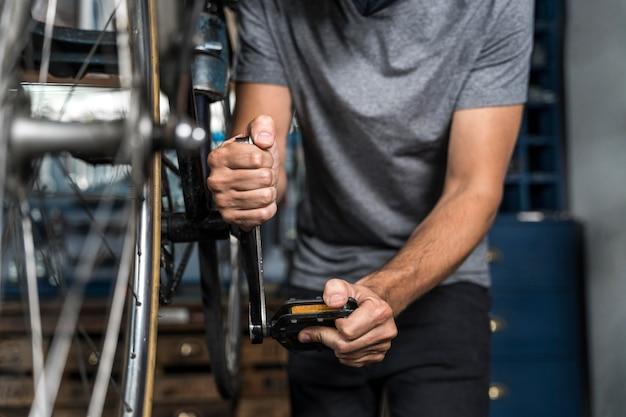 Создание велосипеда в мастерской