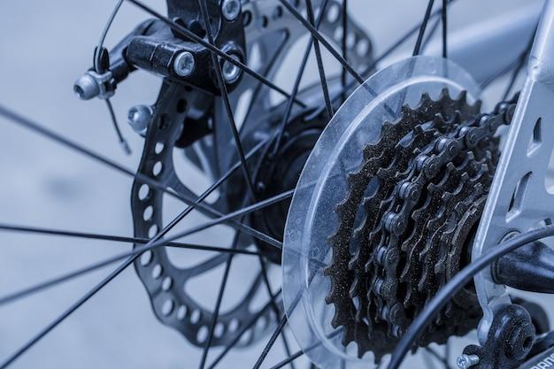 自転車のギア Premium写真