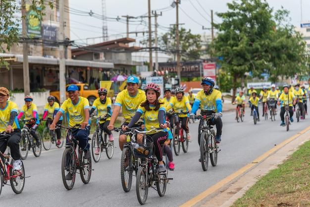 Bike un ai rak cycling event