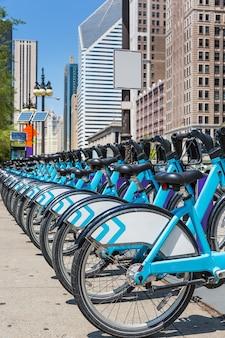 Bikesは、ニューヨーク市の自転車共有システムです。ニューヨークのシティバイクレンタル駐車場