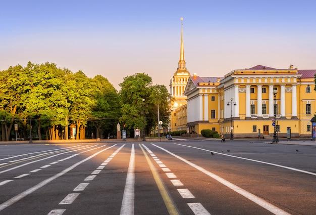 サンクトペテルブルクのアドミラルティのビルディング