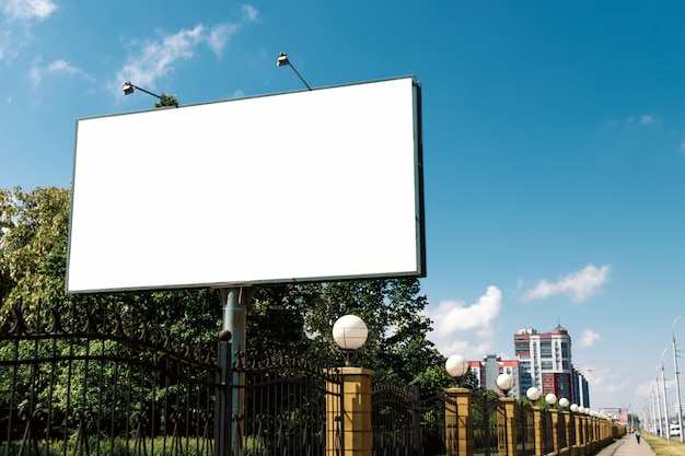 Billboard, billboard, canvas billboard,   city