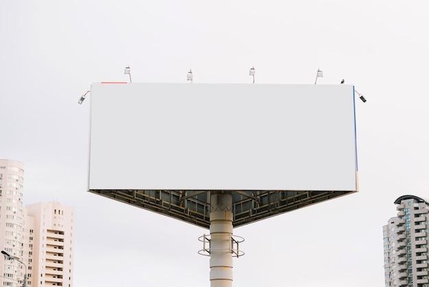 Рекламный щит в городе