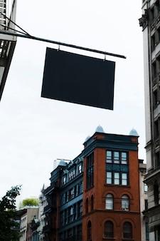Billboard template in urban environment