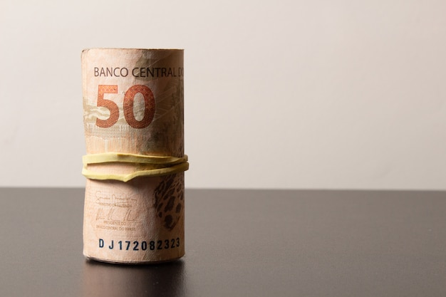 Bills of brazilian currency