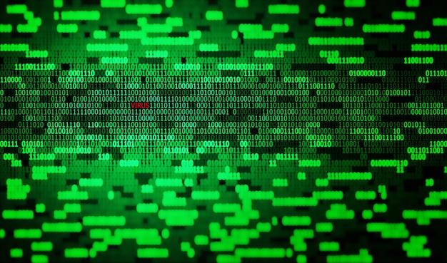 Binary code and virus