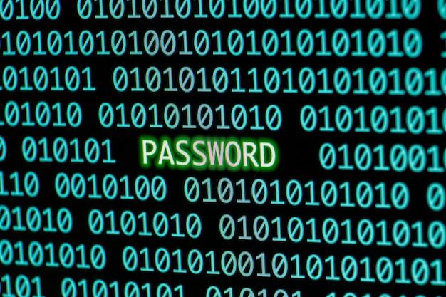 パスワード付きのバイナリコード