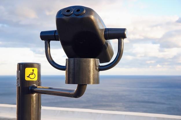 휠체어 사용자를 위한 쌍안경 뷰어, 접근성 관광 및 포괄성