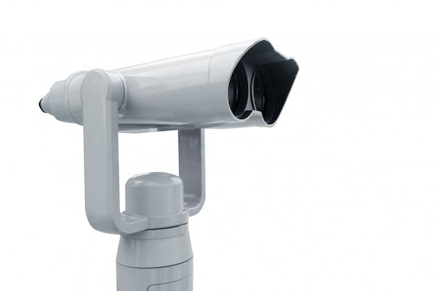 Binoculars, viewfinder camera st deck sky, roof top building, camera for top eye view