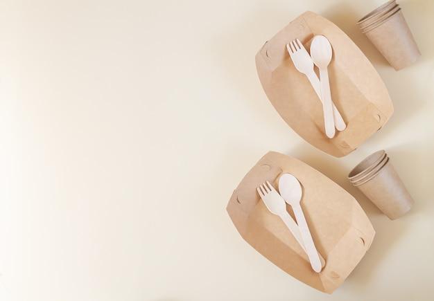 Биоразлагаемая посуда, концепция без пластика