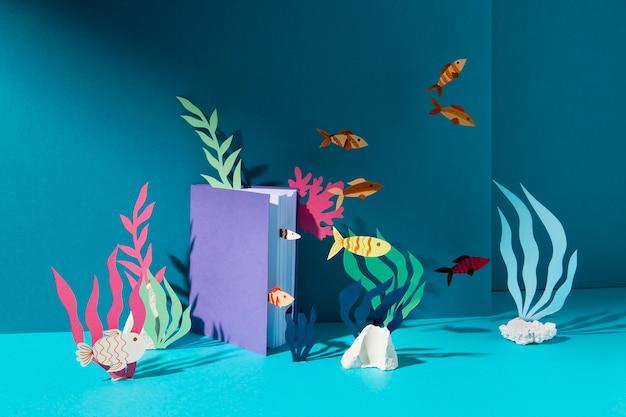 海洋要素を用いた生物学科目の配置