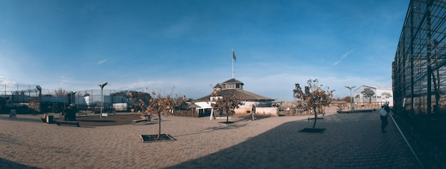 Biopark and zoo in odessa, ukraine