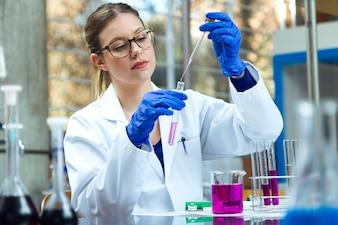 biotechnology experiment discovery analyzing laboratory test