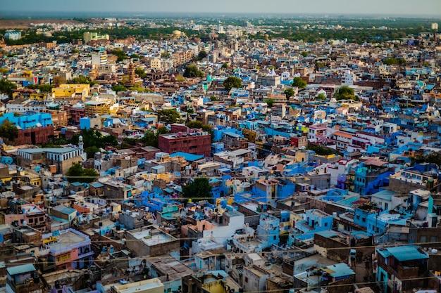旧市街の展望台から撮影した鳥瞰図