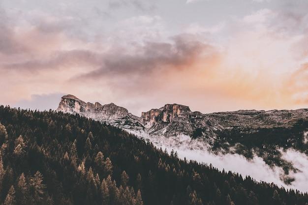 Птичий глаз горы