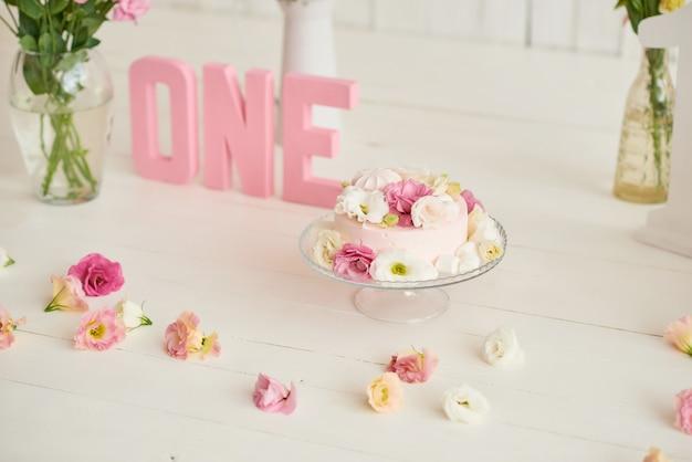 Birthday 1 year cake smash decor