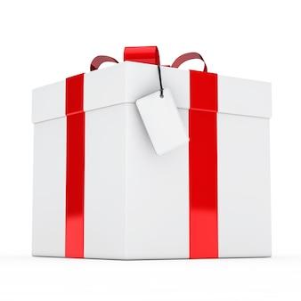 빨간 리본으로 생일 선물