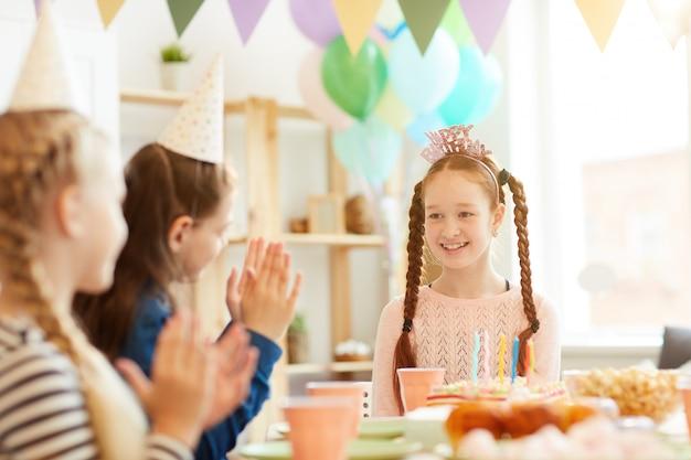 誕生日の女の子