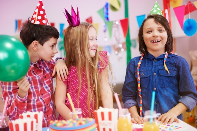 友達の誕生日会