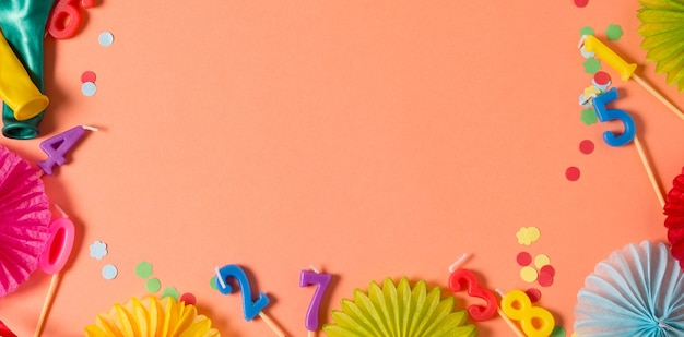 Стена для дня рождения цвета живого коралла, аксессуары для вечеринок