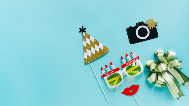 Birthday photocall elements