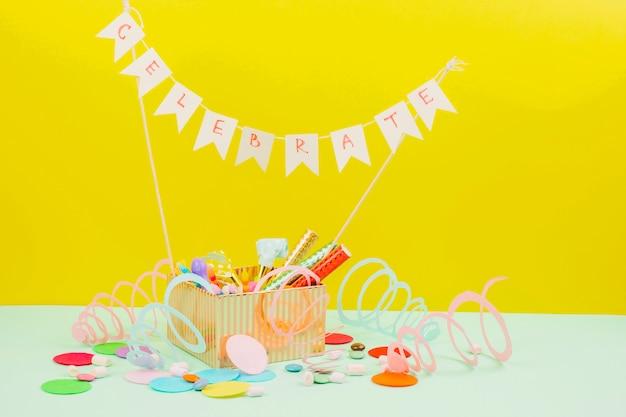 Birthday still life