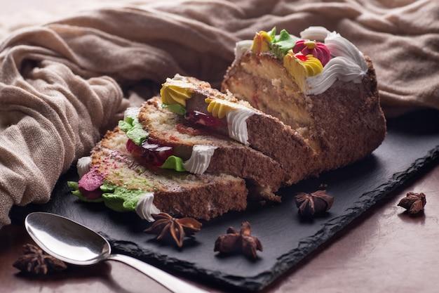 Сладкий торт на день рождения