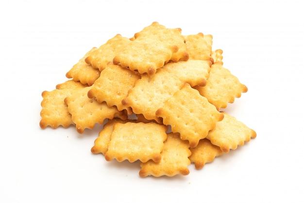 Biscuit cracker with sugar