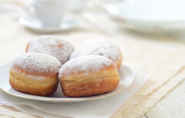 Bismarck donuts