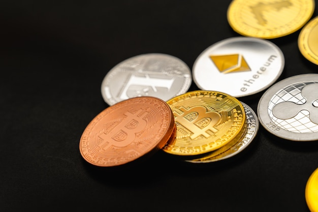 ビットコインチャート。暗号通貨は未来の通貨です。市場価格はビットコインです。