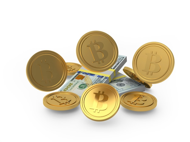 ビットコインコインはドル紙幣を下落しています