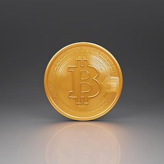Bitcoin coins symbol trading on the cryptocurrency exchange digital currency.