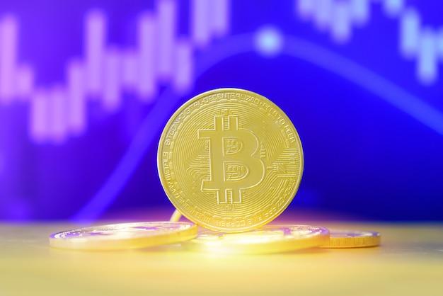 Биткойн-криптовалютный бизнес, финансирование биткойн-монет с помощью графика акций или форекс
