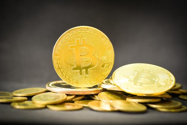 Биткойн-криптовалютный бизнес, финансирование золотых биткойнов, виртуальные деньги криптовалюты btc