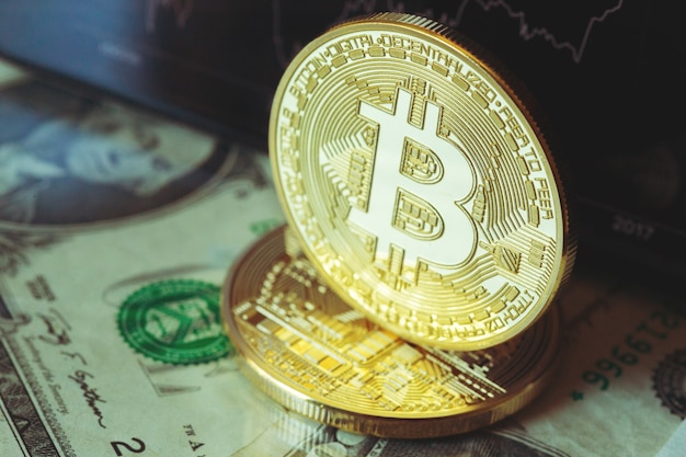 Bitcoin crypto currency diagram