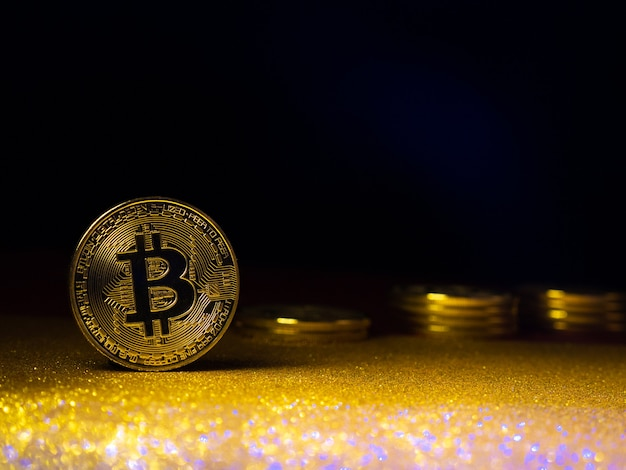 Bitcoin. crypto currency gold bitcoin, btc.
